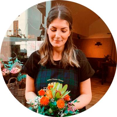 Valentina, Floral Designer Frida's Store Vercelli