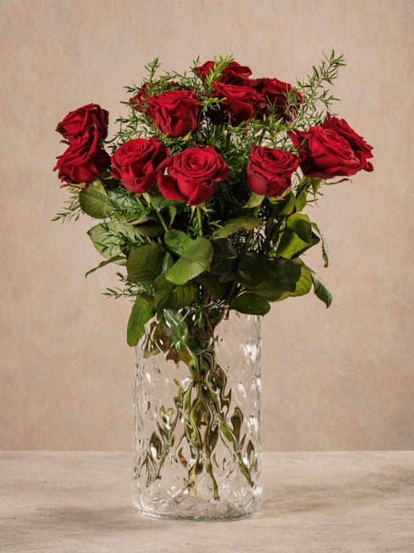 Bouquet Rose Rosse, fiori freschi per occasioni speciali