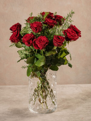 Bouquet Rose Rosse, fiori freschi online con consegna a domicilio
