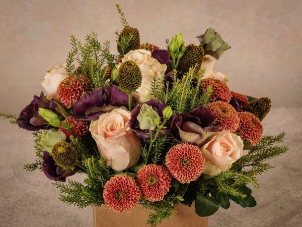 Box Equinozio, fiori freschi con consegna a domicilio in tutta italia