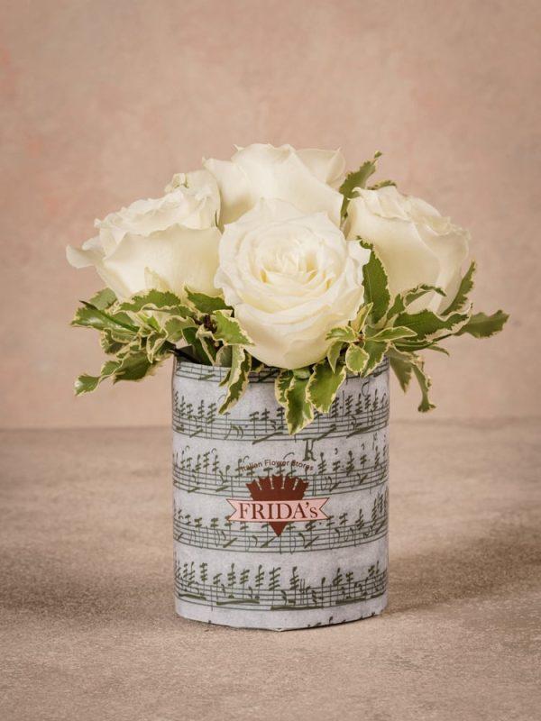 White Rose Sushi Frida's bestseller creation. High quality white roses