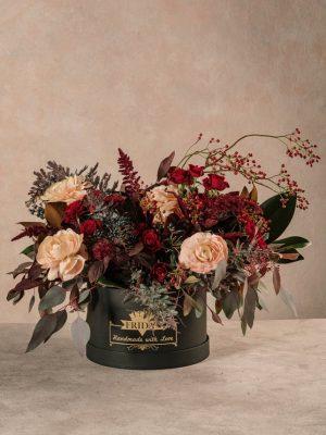 Cappelliera Luxury Creativa Winter, fiori online Frida's