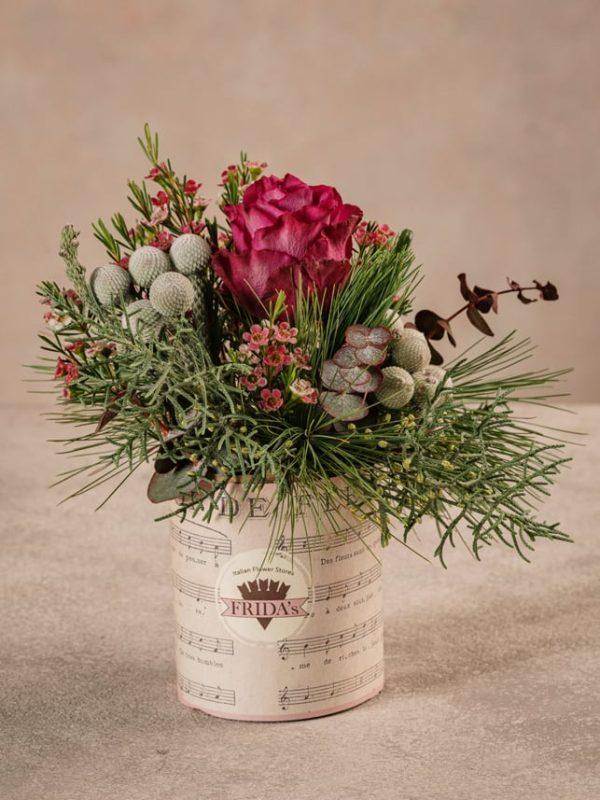 Sushi Winter un mazzo di fiori invernali. Consegna a domicilio in tutta Italia
