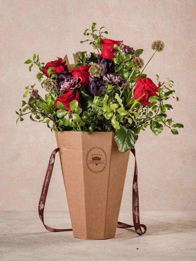 Flower Basket Deep Love