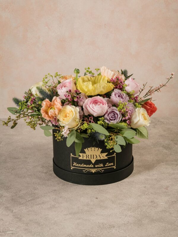 Cappelliera Creativa Luxury, luxury collection. Fiori di altissima qualità a casa tua