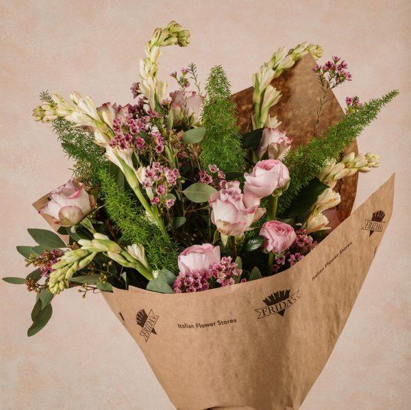 Bouquet Luxury Stagionale, fiori di alta qualità con spedizione in tutta Italia