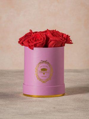 Cappelliera Mini Lilla Rose Stabilizzate, regalati una composizione Frida's che dura nel tempo