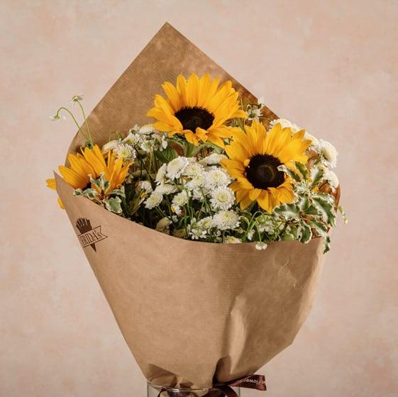 Bouquet Sunny fiori freschi Frida's