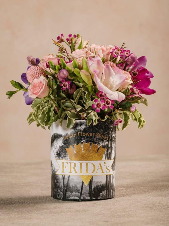 Sushi Delicato, piccolo bouquet di fiori freschi Frida's