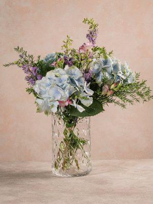 Bouquet Cielo, bouquet dalle sfumature dell'azzurro e del lilla