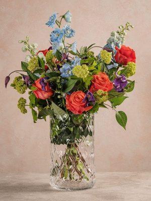 Bouquet Fiesta, bouquet di fiori freschi dai colori vivaci accostati a quelli pastello
