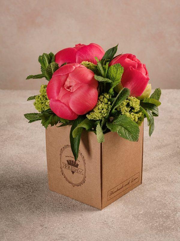 Box Peonie è il regalo perfetto per tutte le donne che ami. E per la festa della mamma