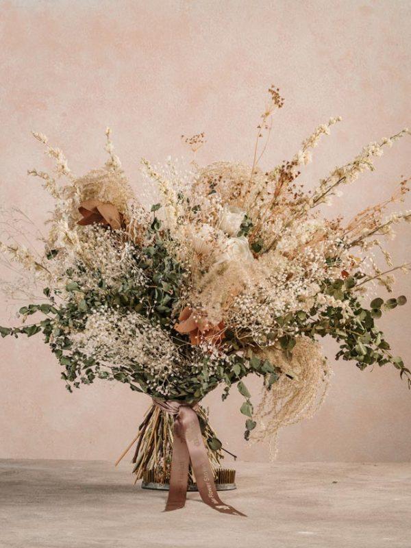 Bouquet Estate Chic, fiori stabilizzati Frida's. Consegna a domicilio