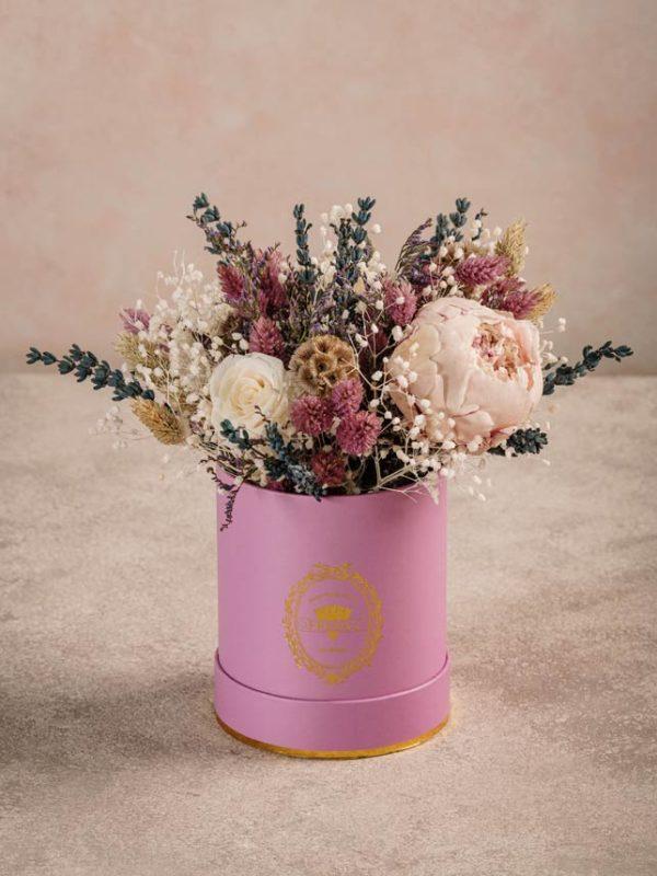 Cappelliera Mini Raggio di Luna bouquet mini di fiori stabilizzati. Summer Collection Frida's