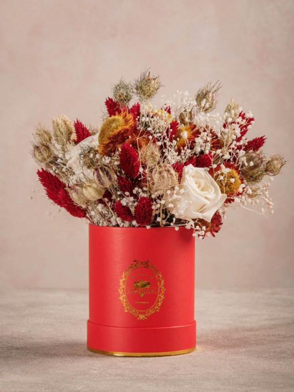 Cappelliera Mini Raggio di Sole bouquet mini di fiori stabilizzati. Summer Collection Frida's