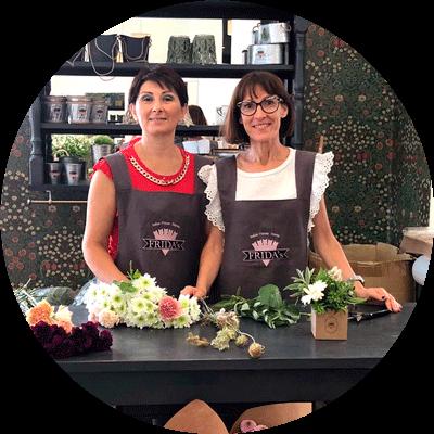 Elsa & Ilenia, Floral Designer Frida's Store Oristano