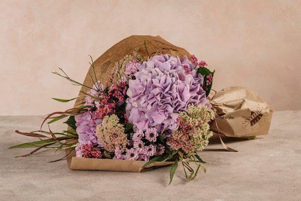 Bouquet Ortensie Frida's mazzo di ortensie e fiori freschi