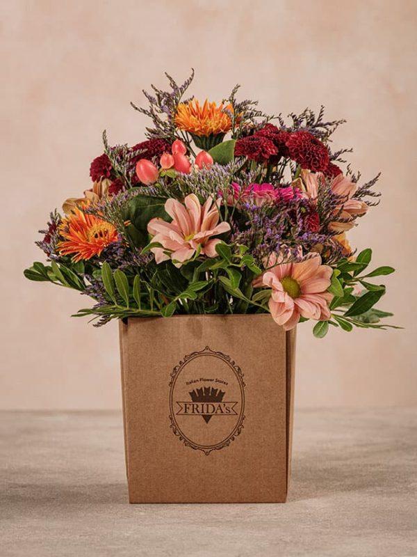 Box Vendemmia Frida's ispirato ai colori, all'atmosfera e ai profumi della vendemmia