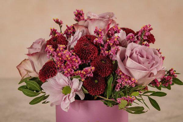 Cappelliera Mini Lilla Frida's mix di fiori e verde di stagione