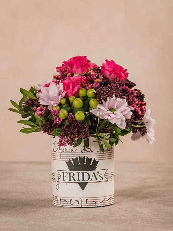 Sushi Delicato, mini bouquet di fiori freschi Frida's