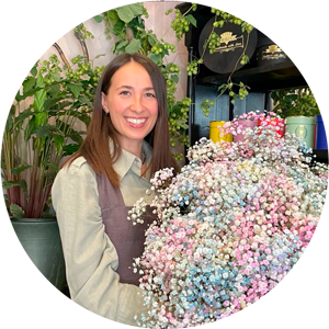 Giulia, Floral Designer Frida's Store Busto Arsizio
